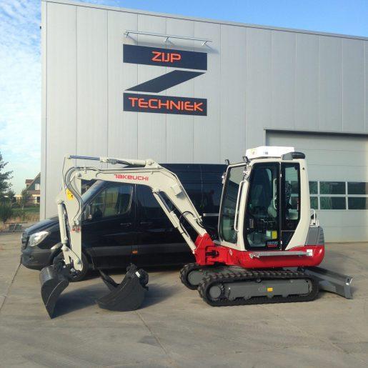 Reparatie onderhoud grondverzetmachines
